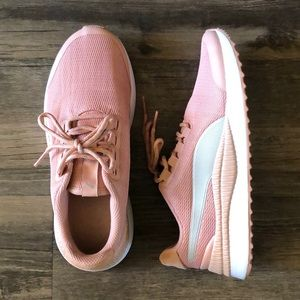 Puma Pink Sneakers size 6